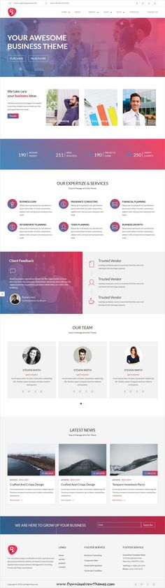 Bisinizi is clean and modern design 3in1 #responsive HTML5 #theme for corporate #business and professional #agency website to live preview & download click on image or Visit #webdesign
