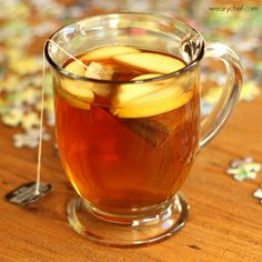 Apple Hot Toddy - The perfect way to warm up on a cool evening!