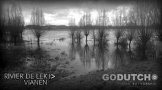 © Vincent Zandkuijl  Hoogwater rivier de Lek