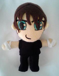Dean Ambrose plush toy doll wwe wrestling the shield by PlushingIt, $27.00