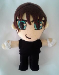 Dean Ambrose plush toy doll wwe wrestling the shield by PlushingIt, $27.00