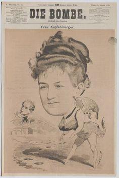 """Frau Kupfer-Berger."" – Wien Museum Online Sammlung Museum, Artist, Movie Posters, Copper, Woman, Artists, Film Poster, Museums, Billboard"