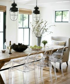 Unique Ideas About Ghost Chairs Dining 33