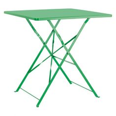 PARC 2-4 seat green square folding garden table £50