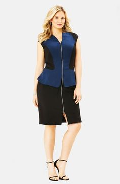 Mynt 1792 Peplum Dress (Plus Size) available at #Nordstrom