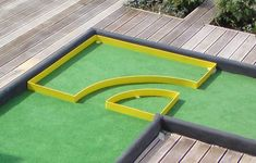 We can make custom mini golf and putt putt obstacles for you. After the purchase of the obstacles you choose, please send us the width of the minigolf lanes you are going to use them on. It will take about 10 days to have them ready for shipment. Golf Putting Green, Putt Putt Golf, Golf Wedges, Golf Breaks, Crazy Golf, Golf Head Covers, Miniature Golf, Golf Club Sets, Golf Instruction