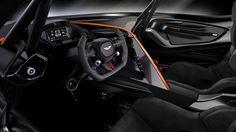 The Aston Martin Vulcan is even hotter than lava!