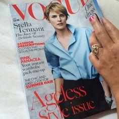 My Feature in Vogue Magazine!!!!!