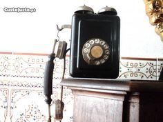 Telefone de parede muito antigo Bell ca. 1920
