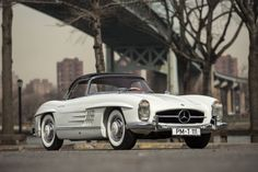 Lease a 1962 Mercedes-Benz 300SL Roadster with Premier Financial Services today. #lease #MercedesBenz #Vintage