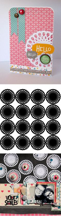 Free doily cutting file from Nicole Nowosad #Silhouette #CutFile