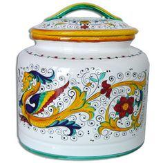 Raffaellesco Italian Ceramics.  I'll take a whole set, please!