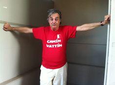 """GIANNI CIARDO Le t-shirt """"Camìn Vattìn"""" sono in vendita presso il negozio Bidonville Store in Via Melo, 224 a Bari - tel. 080/9905699"""
