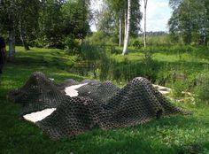 Cancer City - An underwater crayfish community made of special concrete - Norrtälje, Sweden