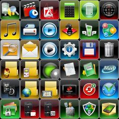 PhoneIcons Mix25 Icons, Tech, Games, Technology, Gaming, Toys, Ikon, Game, Icon Set