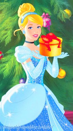 Disney Christmas::Cinderella Bearing Gifts For aynslee's room