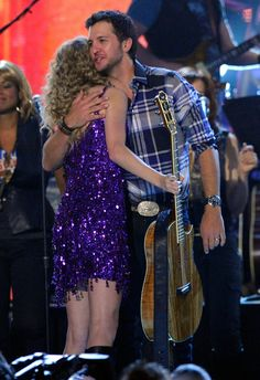 Luke Bryan and Taylor Swift...that should obviously be me..