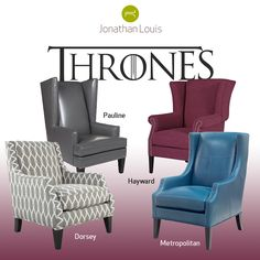 The Game of Thrones premiere countdown is on! Perhaps some more comfortable throne options for your home?