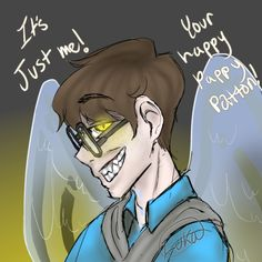 Be careful what you wish for. Funny Youtubers, Draw The Squad, Jack And Mark, Thomas Sanders, Sander Sides, Epic Art, Miraculous Ladybug, Spikes, Are You Happy