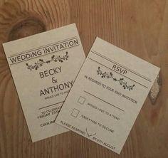 Wedding Invitations x