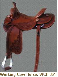 Jerry Shaw Working Cow Horse Saddle: WCH-361