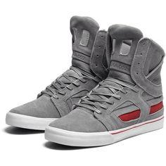 SUPRA Skytop II (2) Grey Suede LIMITED EDITION Mens Sneakers