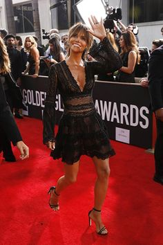 Halle Berry at The 75th Golden Globe Awards (2018)