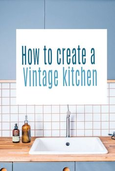From walls to worktops and form paint to flooring as as well as accessories - her is how to create a vintage kitchen on a budget. Stylish kitchen updates that will make a huge difference to your kitchen design and decor #kitchen #vintage #vintagekitchen #kitchendesign #kitchendecor Kitchen Updates, Updated Kitchen, Beautiful Space, Beautiful Homes, Kitchen Decor, Kitchen Design, Stylish Kitchen, Kitchen On A Budget, Home Hacks