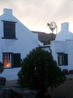 South Africa - On Claudi Nine Holiday Places, Holiday Destinations, South African Homes, Cape Dutch, Garden Walls, Windmills, Farm House, Breathe, Birth