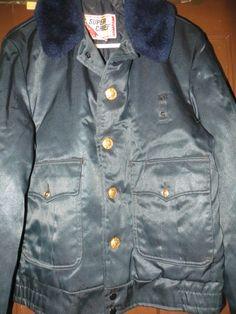 Vintage 50s  Mens POLICE JACKET / Size 40  by Linsvintageboutique, $46.50