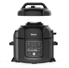 The Ninja food I XL pressure cooker that crisps. Pressure cooker, air fryer, tender crisper Tender crisp technology allows you to quickly cook ingredients, then the crisping lid gives y… Blender Food Processor, Food Processor Recipes, Ninja Kitchen, Cooking A Roast, Cooking Time, Baked Roast, Pot Roast, Ninja Coffee, Ninja Blender