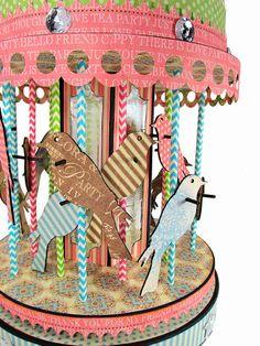 The Gentleman Crafter: Liya Kate's Birthday Bird Carousel...