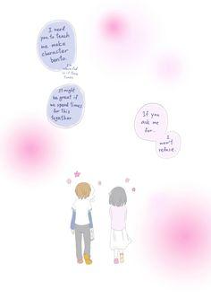 Nyo Taiwan and Nyo Japan in Valentine strips (page 4) Wonder what kind of character bento Nyo Taiwan will make. ☁️Chibidora☁️