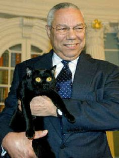 Miss his integrity and character Colin Powell