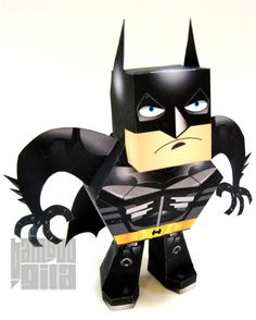 Blog Paper Toy papertoy Batman DK pic Batman papertoy   The Dark Knight