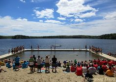 The Medicine Bow Swim Carnival at Camp #Yawgoog!  Image by David R. Brierley.