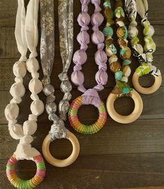 Breastfeeding Necklaces Nursing Necklaces Chew Teether Necklaces  Handmade in many styles!  etsy.com/shop/crunchiemomma