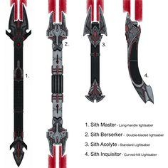 Sith Lightsaber concept by ProjectWarSword on DeviantArt