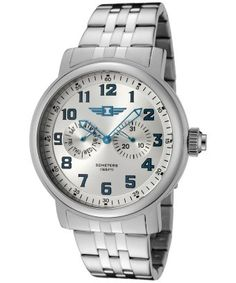 style #325026101 Men's Silver Dial Stainless Steel IBI-90235-002 Watch. $55.99