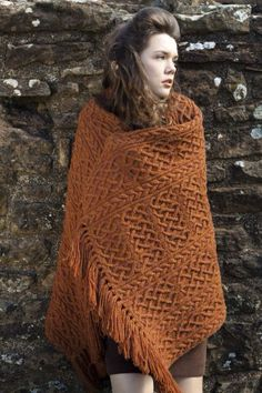 St Ciaran design by Alice Starmore, perfect cosy wrap for the home.
