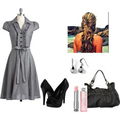 Office, created by erin-m-heeney on Polyvore