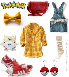 Misty (Pokemon) inspired outfit