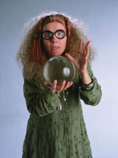 Day 7: Least favorite Hogwarts professor.      My first thought for this category was Umbridge, but she only had a year of teaching so I decided to go with Trelawney who was a bit more regular than Umbridge.  It always annoyed me that even though Trelawney was an actual seer, she couldn't control when she had her visions.  So when she couldn't channel her powers of divination, she would make up a prophecy and use it to terrify the students she had.  In many ways she was just like a bully.