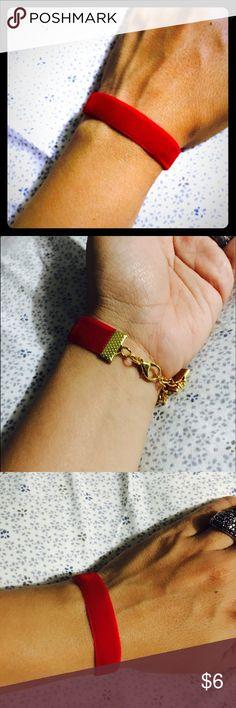 New Hot Red Velvet Bracelet #01BR Red Velvet Bracelet  Jewelry Bracelets