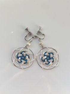 Rope Jewelry, Macrame Jewelry, Metal Jewelry, Decorative Knots, Do It Yourself Jewelry, Weaving Designs, Celtic Patterns, Weaving Art, Jewelry Making Tutorials
