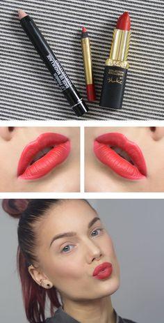 Tips på att fixa röda läppar av Linda Hallberg