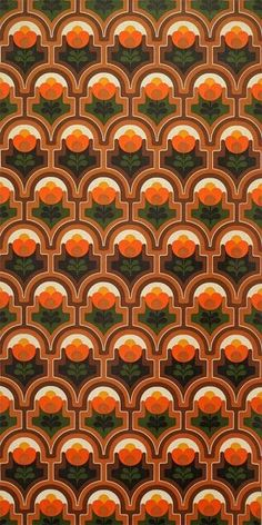 wallpaper - running meter o. roll / geometric vintage wallpaper, psychodelic wallpaper patterns wallpaper - running meter o. 70's Wallpaper, Iphone Wallpaper Glitter, Aesthetic Iphone Wallpaper, Flower Wallpaper, Aesthetic Wallpapers, Geometric Vintage Wallpaper, Vintage Wallpaper Patterns, Pattern Wallpaper, Vintage Wallpapers