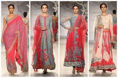 Silver Pink Varun Bal India Couture Week width=