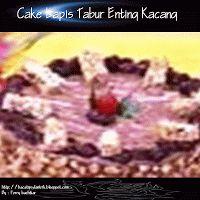 Cake Lapis Tabur Enting Kacang