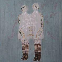 "Saatchi Art Artist Karenina Fabrizzi; Painting, ""Duality III"" #art"